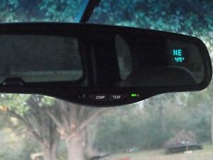 Overstock Sale Tahoe Gm Gentex Auto Tint Rearview Mirror Compass Temp