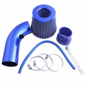 Universal Car Cold Air Intake Filter Alumimum Induction Kit Pipe Hose Rm
