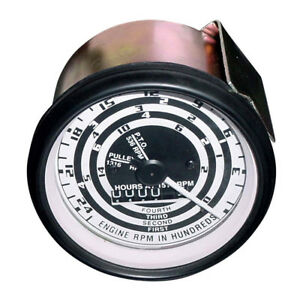 Tachometer Proofmeter Gauge Fits Ford 541 620 621 630 631 640 641 700 740 741 82