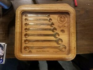 Richard Petty mac Tools Wrench Set Collectible Wrenches