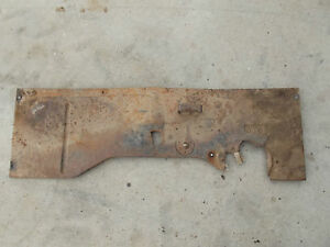 1941 Gmc Truck Floor Parts Section Chevy Chevrolet 1939 1946 1945 Hotrod