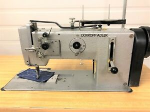 Adler 267 373 German Made Walking Foot Reverse 110v Industrial Sewing Machine
