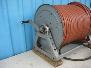 3 8 Air Compressor Hose And Hannay Hose Reel Air Hose