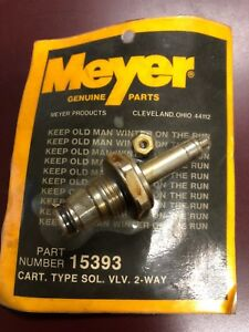 Meyer Snow Plow a Cartridge Valve 3 8 Old Style Part 15393