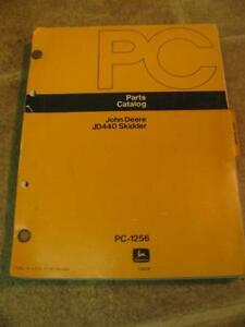 John Deere 440 Log Skidder Parts Catalog Manual Pc1256
