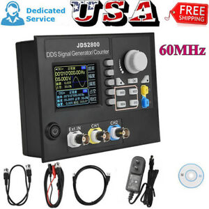 Jds2800 Dual channel Arbitrary Waveform Dds Function Signal Generator Software