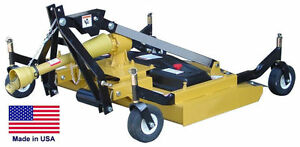 Finish Cut Mower Commercial 3 Point Hitch Mounted Pto Driven 60 Cut