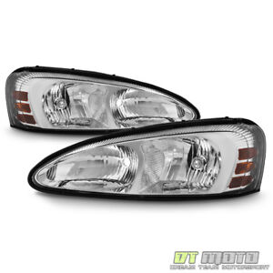 2004 2005 2007 2007 2008 Pontiac Grand Prix Headlights Headlamps Pair Left right