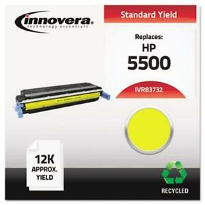 Innovera Remanufactured C9732a 645a Toner 12000 Yield Yellow ivr83732