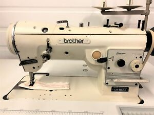 Brother Lz2 b852 3 High Speed Zig Zag W reverse 110v Industrial Sewing Machine