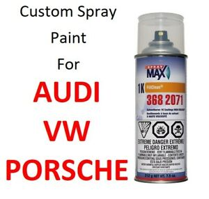 Custom Automotive Touch Up Spray Paint For Volkswagen Audi Porsche