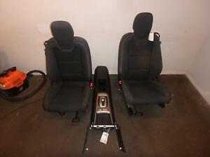 12 15 Chevrolet Camaro Front Seat Console Black Cloth Power
