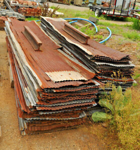 9 Corrugated Roofing Tin 26 W Galvanized Roof W Patina Winchester Virginia