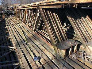 29 11 1 2 Steel Bar Joist 36 X 30 Steel Floor Roof Trusses Steel Joist Su
