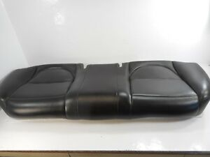 04 Jaguar Xj8 Rear Seat Bottom Lower Cushion Oem Black Leather