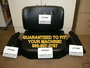 John Deere 350 350b 350c 450 450b 450c 550 555 450d Seat Cushion Set Back Bottom