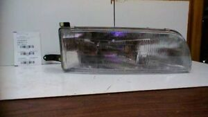 Passenger Side Right Headlight Without Fog Lamps Fits 91 93 Toyota Previa