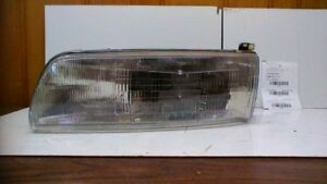 Driver Side Left Headlight Without Fog Lamps Fits 91 93 Toyota Previa