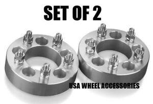 2pcs Wheel Spacers Adapters 5x4 75 1 25 12x1 5 Studs