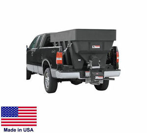 Spreader Commercial Salt Sand Truck Bed Mounted 1 5 Cubic Yard Capacity