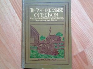 1913 The Gas Engine On The Farm Book Jacobson Rumely Hackney Bates Hart Parr