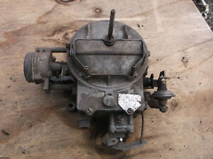 1964 Fairlane 260 Autolite 2100 2v Carburetor C4of B 3h E 2bbl Barrel 9425 Pcv
