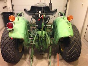 John Deere 850 Tractor 3 Cyl Yanmar Diesel 25 Hp Runs Great