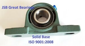 q 12 Pillow Block Bearings Solid Base High Quality 1 1 2 Ucp208 24 Self align