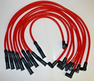 Oldsmobile Hei Red 10 Mm Spark Plug Wires 307 330 350 403 400 425 455