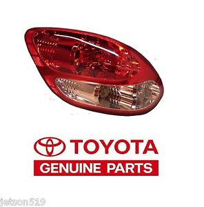 2003 2006 Genuine Toyota Tundra Stepside Left Rear Tail Light Taillight Lamp Oe