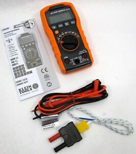 Klein Tools Mm400 Auto Ranging Digital Multimeter Excellent