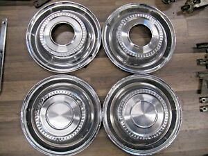 1972 80 International Scout Ii Terra Traveler 4x4 Hubcaps Set Of 4 Originals
