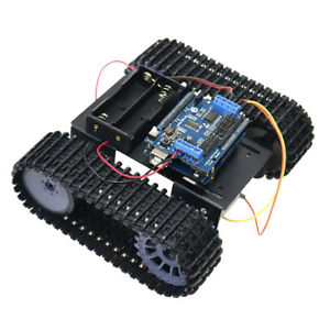 Arduino Wifi Control Smart Tank Chassis Car Kit With Dual Dc Motor For Diy