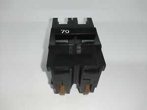 Fpe Federal Pacific Challenger Na270 Stab lok 70 Amp 2 Pole Circuit Breaker