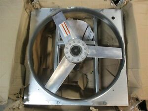 Industrial Direct Drive Exhaust Fan 24 Propeller 115 230v Shroud Bent