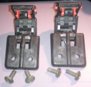Pair 89 03 Chevy Geo Tracker Suzuki Sidekick Convertible Soft Top Latches Locks