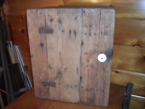 Vintage Wooden Handmade Cupboard Neat Primitive Cuoboard