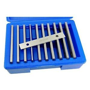 Machinist s Thin Parallel Bar Set 10 Pair Matched 20 Pieces High Quality Steel
