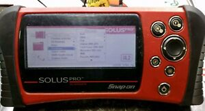 Snap on Solus Pro V14 2 Scanner W euro works Selling As Back Up Or For Parts