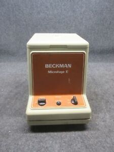 Beckman Instruments Microfuge E Centrifuge 348720 Microe tested Working