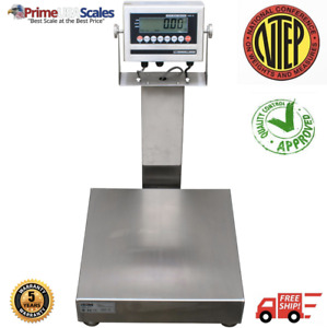 Wash Down Bench Scale 24 X 24 Ntep Class Iii 500 Lb X 0 1 Lb Stainless Steel