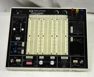 Global Specialties Pb 503 Proto Board Analog Digital Design Trainer Breadboard