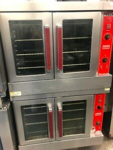 Vulcan Vc4gd Double Stack Convection Oven Natural Gas