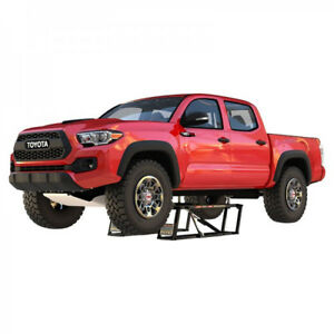 Quickjack Portable Car Lift 7000 Lb Capacity 110 Volt Extended Bl 7000ext