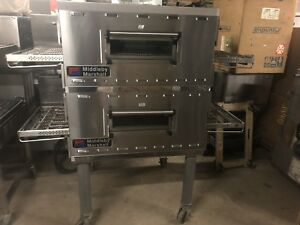 Middleby Marshall Double Deck Conveyor Pizza Oven Impinger