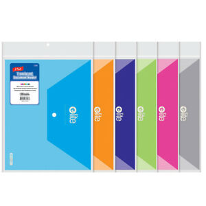 New 400399 Elite Letter Size Document Holders 2 Pack 24 pack Binders