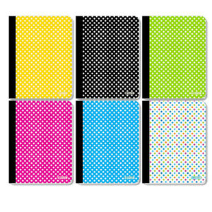 New 402234 C R 100 Ct Polka Dot Composition Book 48 pack Notebook