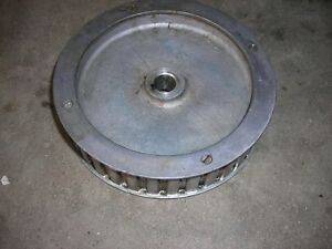 Bridgeport Mill Part Milling Step Pulley Timing Belt Pulley