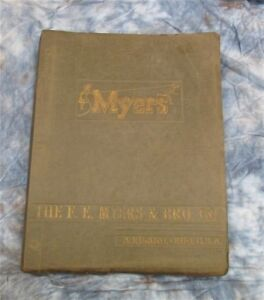 1955 Myers Well Pump Catalog Vintage Advertising Deep Shallow Water System Parts