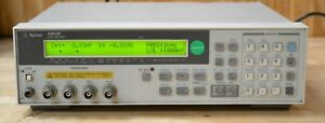 Hp Agilent 4263b Lcr Meter 100hz 100khz Opt 001 002 Guaranteed Good